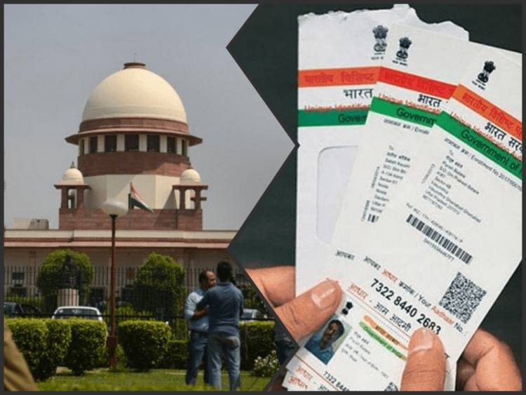 Supreme Court to Centre: Aadhar card cannot be mandatory when we say it is optional