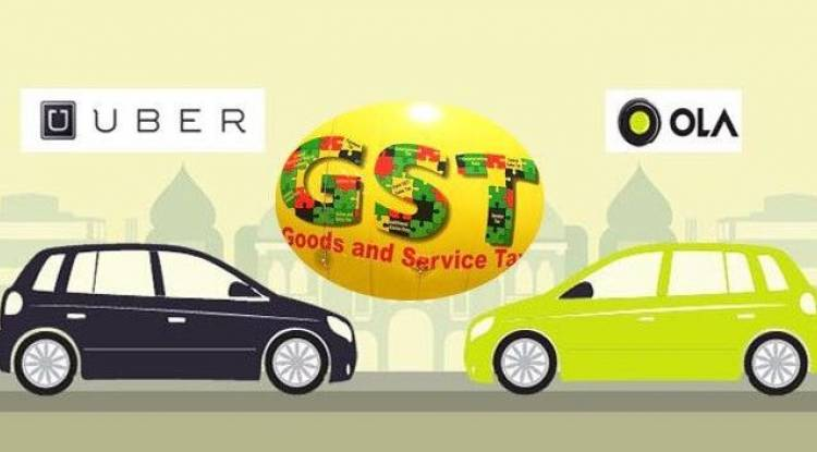 GST impact on Ola, Uber or taxi – Ecommerce operator to pay GST instead of Cab drivers