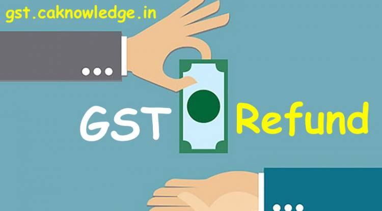 What is the meaning of relevant date for refund under GST?