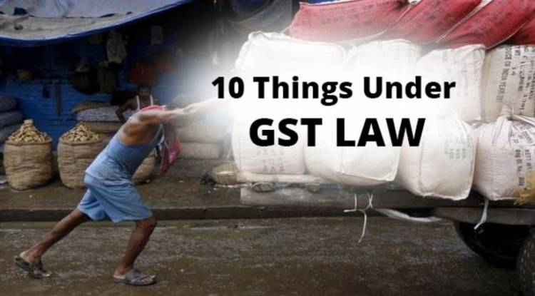 10 Things you should know about the New GST Law Model