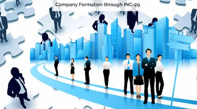 Company Formation through INC-29