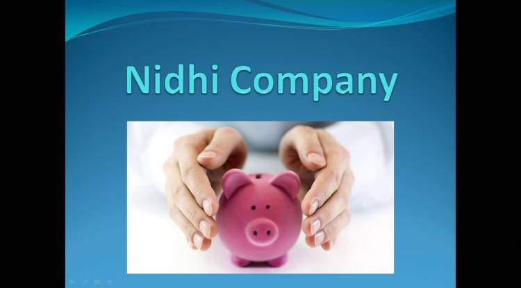 Nidhi Company Formation in India