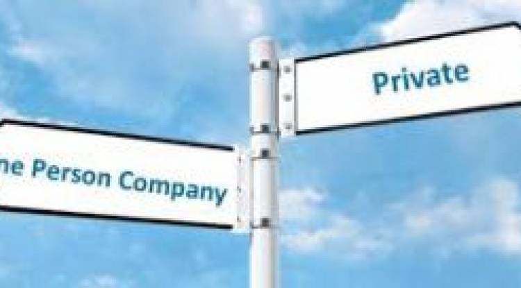 Procedure of conversion of One Person Company into a Private Limited Company