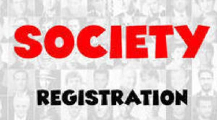 HOW TO REGISTER A SOCEITY?