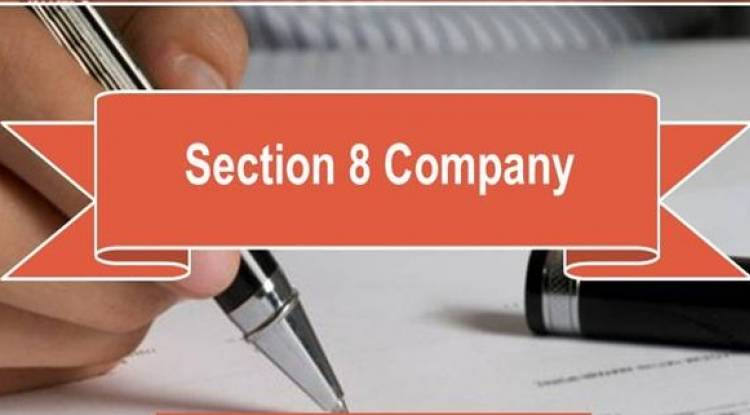 Is it permitted to register a Section 8 company for an NRI?