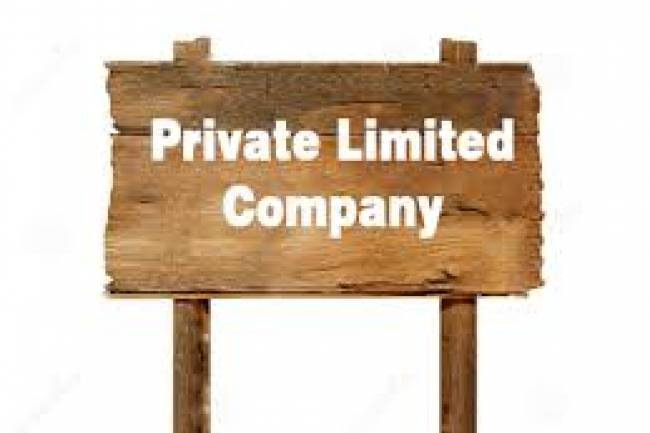 Can a Private Limited Company be converted to any other form of Company?