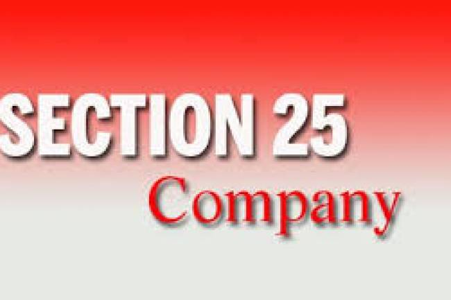 Formation of Section 25 Company: