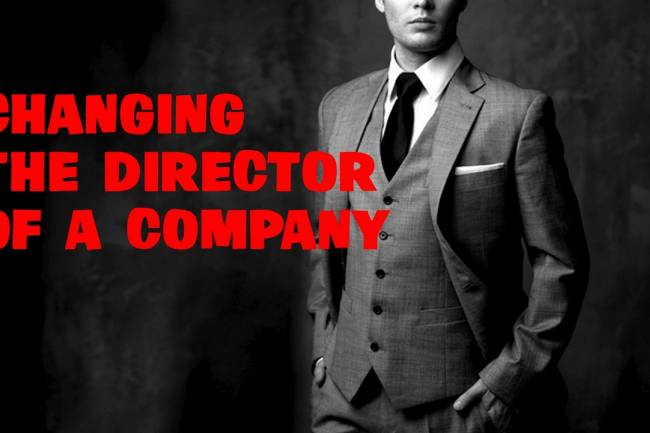 Changing Director in a Company