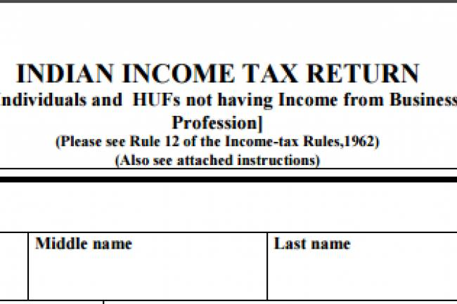 How do I fill out ITR 2, for capital profit/loss?