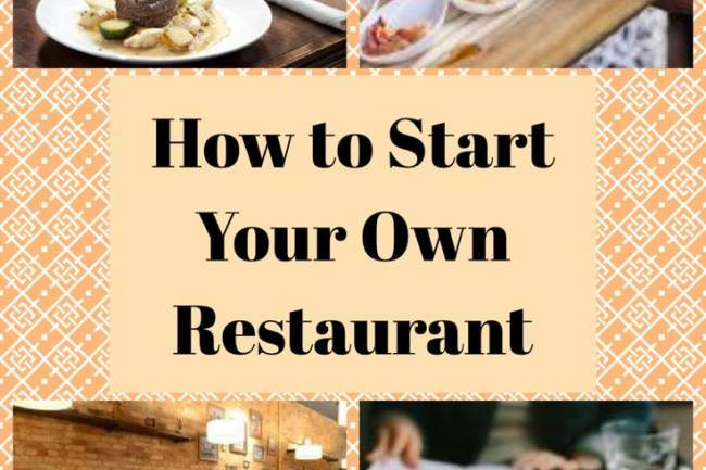 What do we need to start our own restaurant? Answer Request