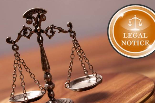 Legal Notice Format & Procedure In India
