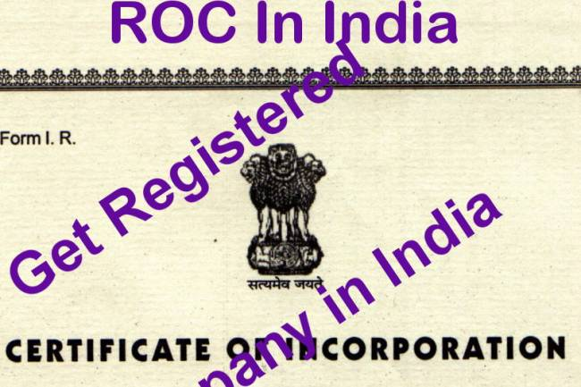 Address & Contact Details Of Registrar Of Companies (RoC) In India