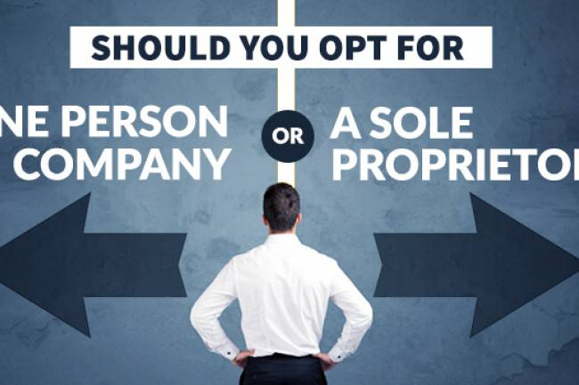 What Is The Difference Between OPC And Sole Proprietorship?