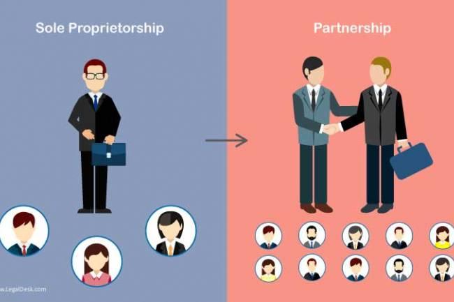 How To Convert A Sole Proprietorship To A Partnership?