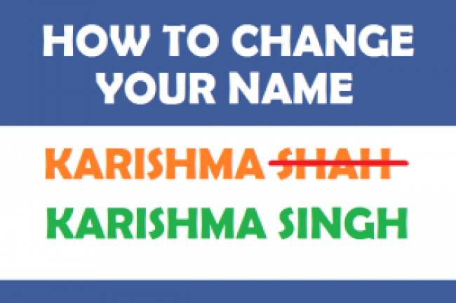Name Change In India: A Complete 3-Step Guide