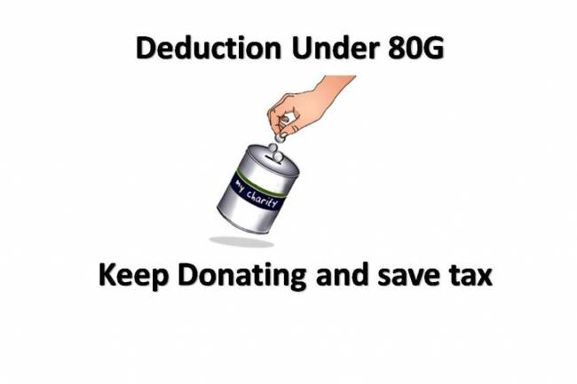 Deductions Under Section 80G