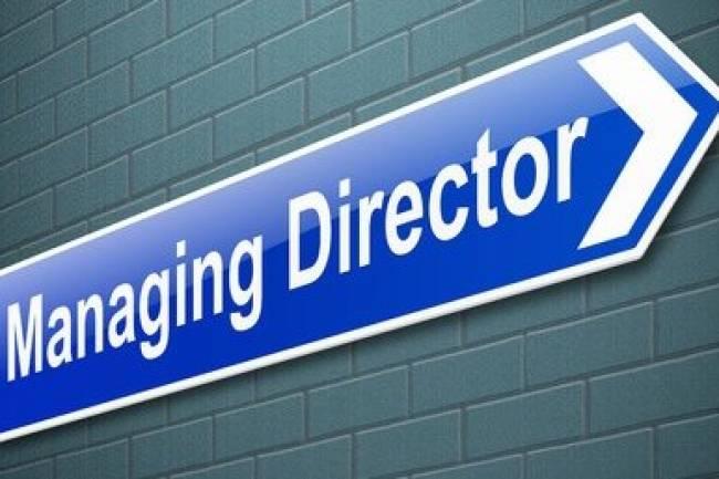 Managing Director of Company