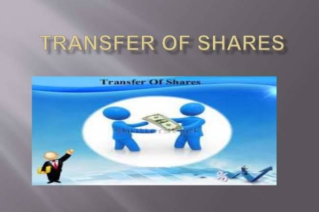 HOW TO TRANSFER SHARES IN PRIVATE COMPANY?