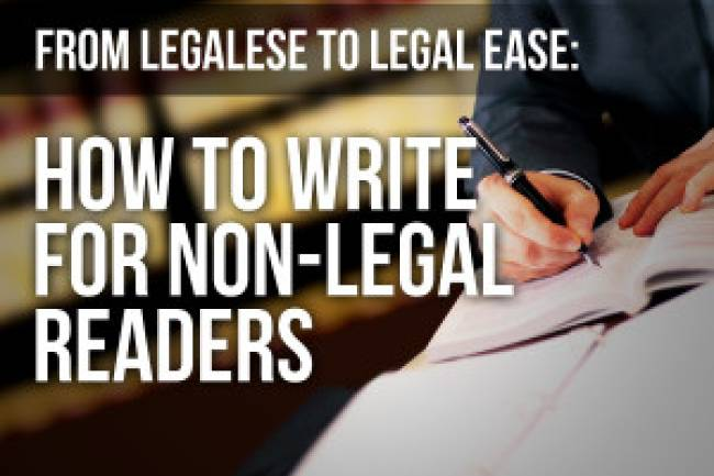 HOW TO WRITE A LEGAL ARTICLE?