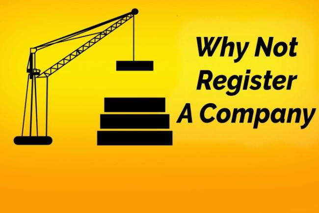 Why Not to Register Company in India - 5 Reasons for not choosing company registration