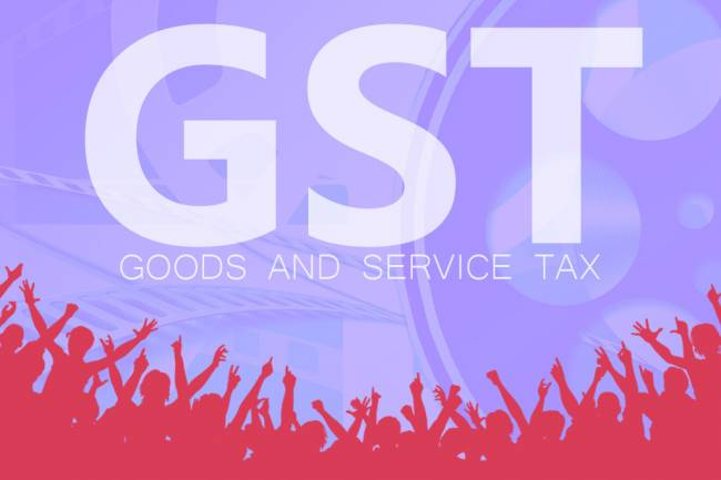What is consumption based tax under GST?