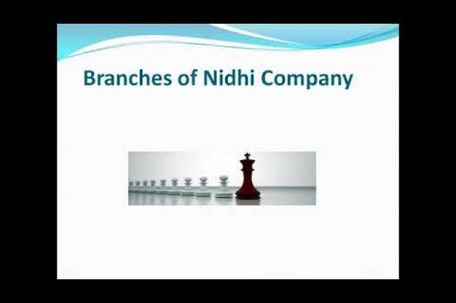 Branches by Nidhi Company – Rule 10 of Nidhi Rules, 2014