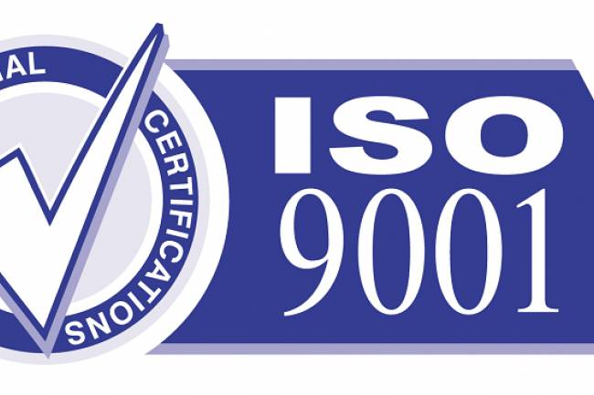 Procedure for the ISO 9001 Certification