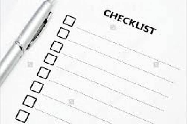 Checklist for Due Diligence of Company
