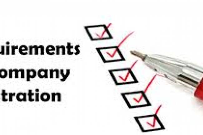 Legal Requirements for Company Registration