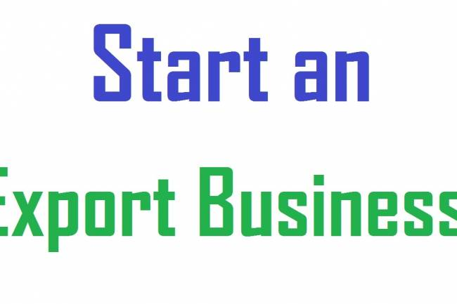 How to start Export Business?