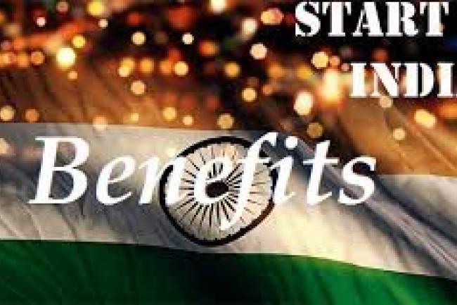 Benefits of Start-up India Scheme