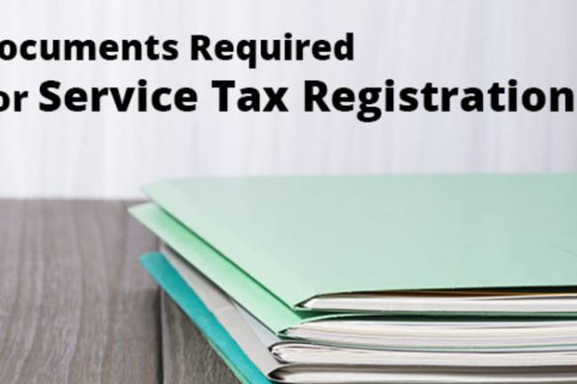Documents Required for Service Tax Registration