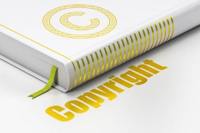 Copyright a Book
