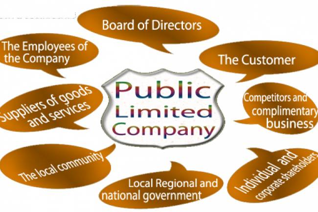 How can a public company raise funding from general public?