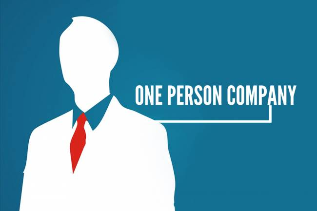 How to start a One Person Company business in India?