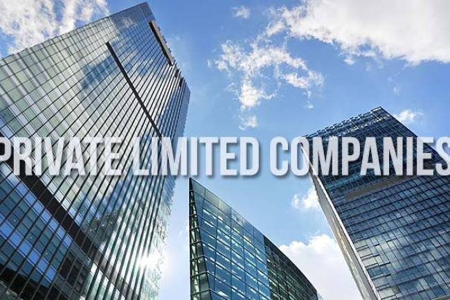 How many people are required to register Private Limited Company in India?