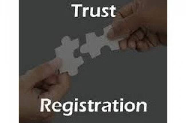 WHAT ARE THE DOCUMENTS NEED TO BE SUBMITED FOR REGISTRATION OF TRUST?