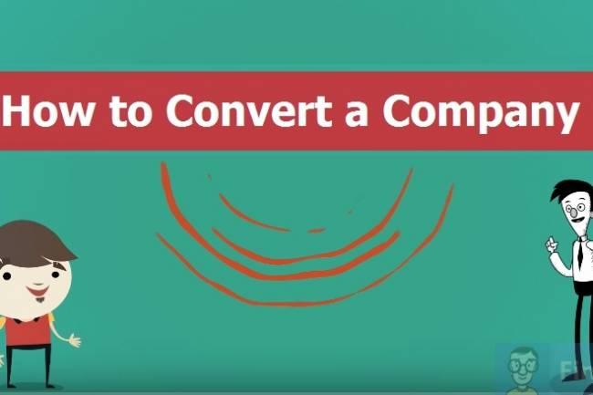 Convert Proprietorship into Private Limited Company : Company Conversions