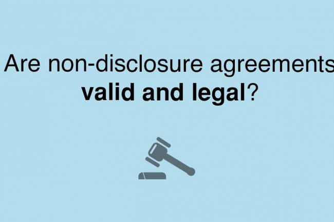 What happens if someone breaks a non-disclosure agreement (NDA)?