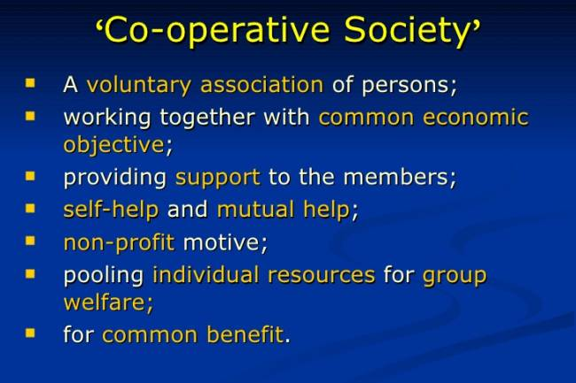 Where can I check if a co-operative credit society is registered or not?