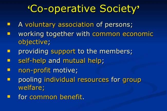 How do I form credit cooperative society?