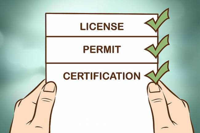 What are the various licenses required to start up a food corner in india?