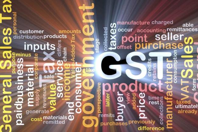 What will the GST rate be for gold?