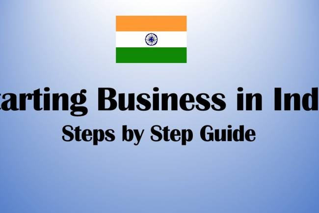 What are the steps to open a company in India?