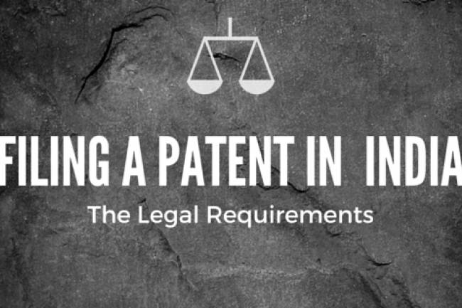 What are the steps to file a patent in India?