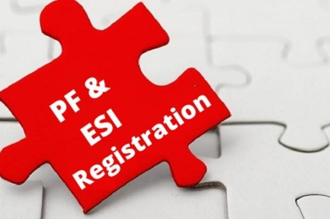 What is the procedure to register ESI?