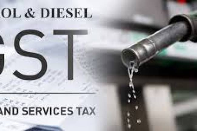 Why do petrol and diesel prices not fall under GST?
